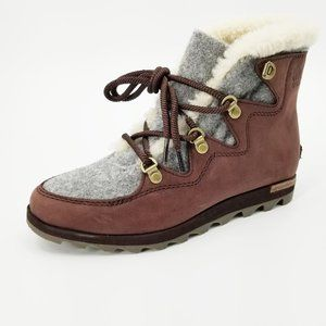 Sorel SneakChic Alpine Winter Boots with Shearling
